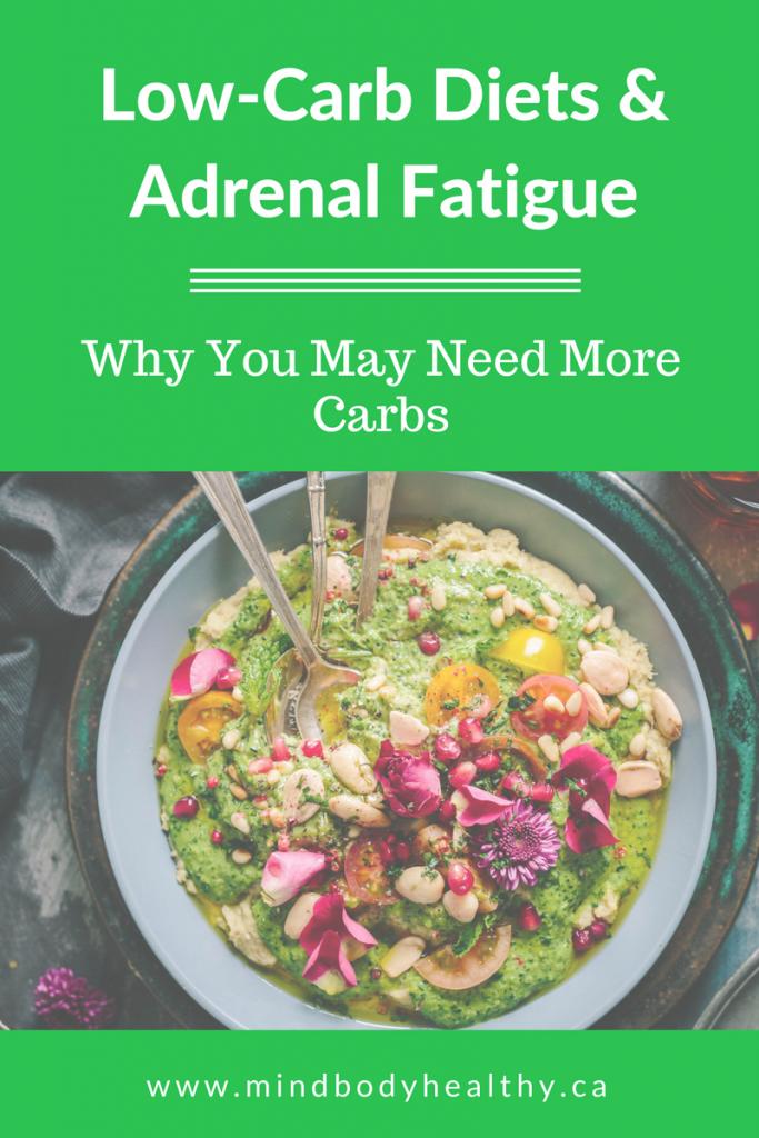 vegan diet for moderate adrenal fatigue