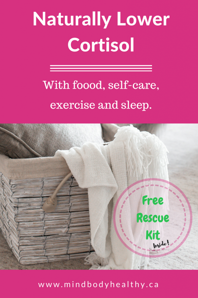 Naturally Lower Cortisol | Adrenal Fatigue