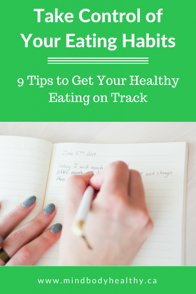 Healthy Eating on Track | 9 Tips