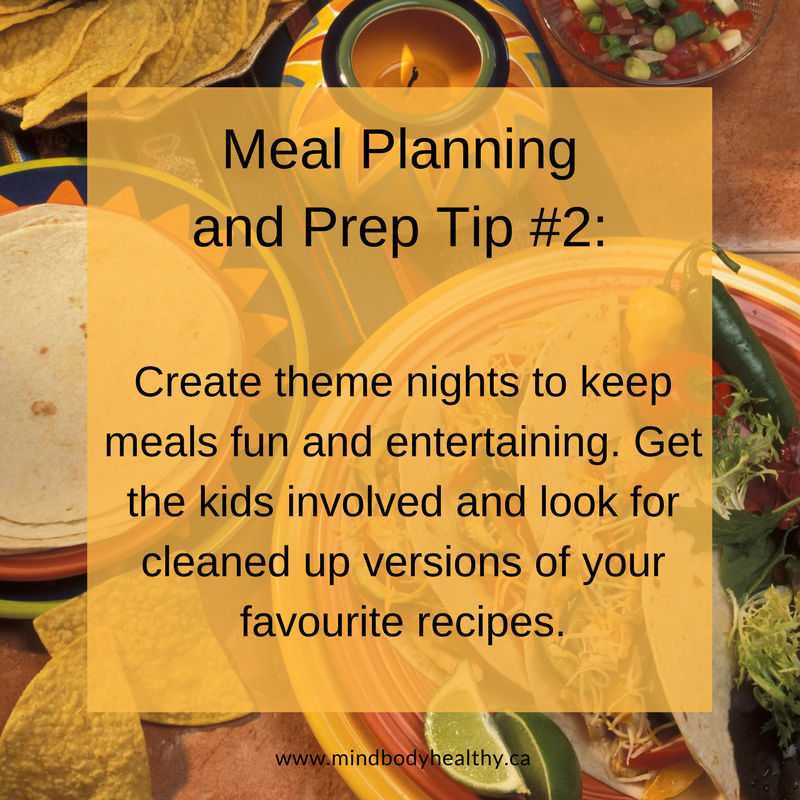 Meal Planning and Prep | Holistic Nutrition