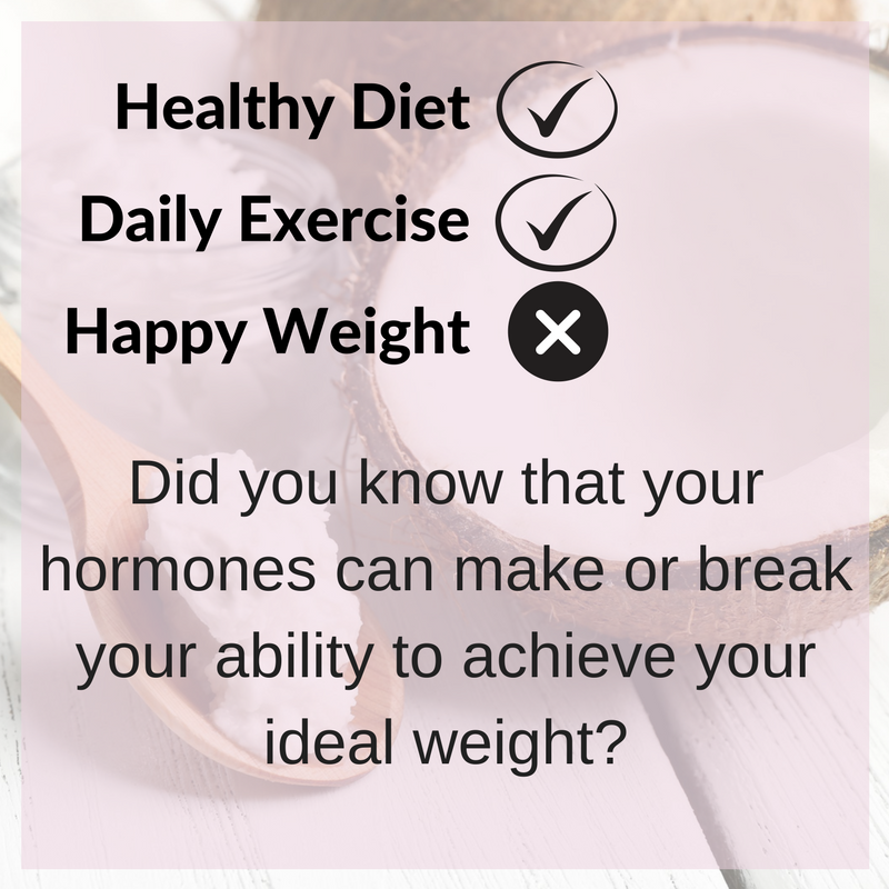 Your Happy Weight | Hormones and Weight