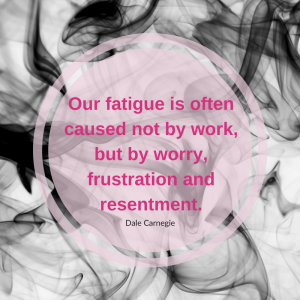 Chronic Fatigue and Belly Fat