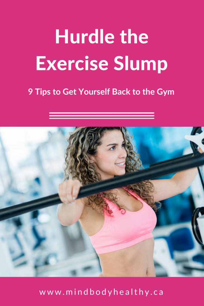 Exercise Slump | Holistic Nutrition
