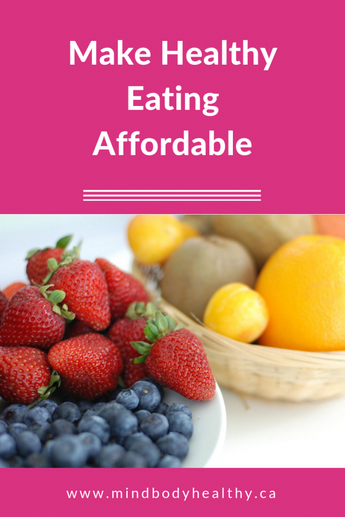 Healthy Eating Affordable | Holistic Nutrition