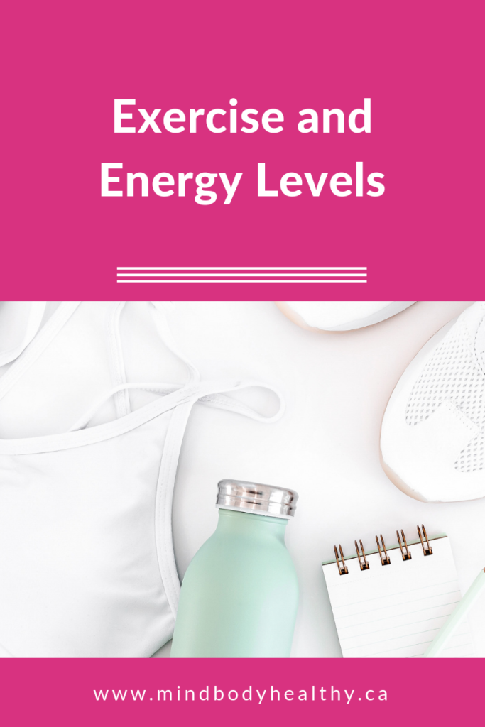 exercise and energy levels