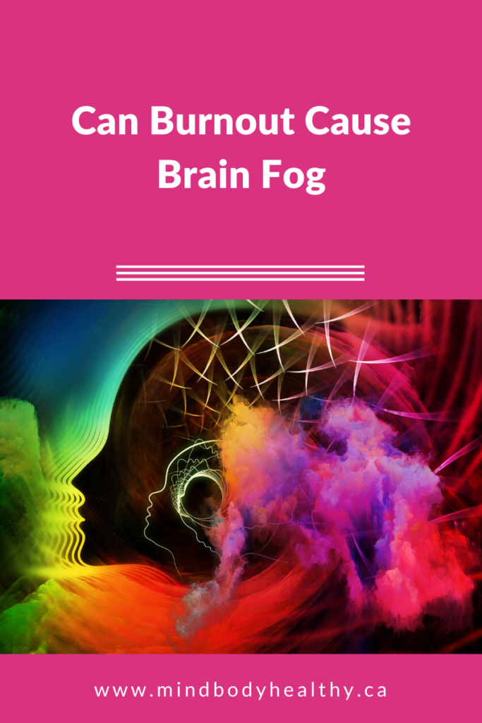 can burnout cause brain fog